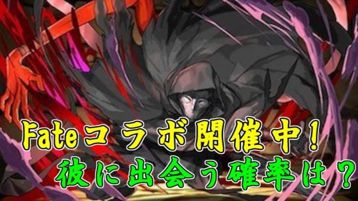【パズドラ】Fateコラボ開催!真のアサシンの遭遇確率は一体?【コラボ】