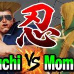 スト5 ひぐち(ガイル) vs ももち(セス) 忍びの者逹 Higuchi(Guile) vs Momochi(Seth) SFV