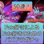 Fate好きがただパズドラFateガチャを引く動画
